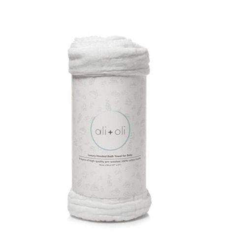 Muslin Cotton Hooded Towel