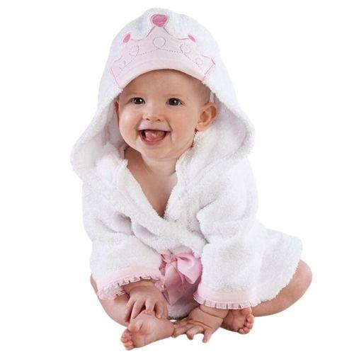 Princess Hooded Bath Robe