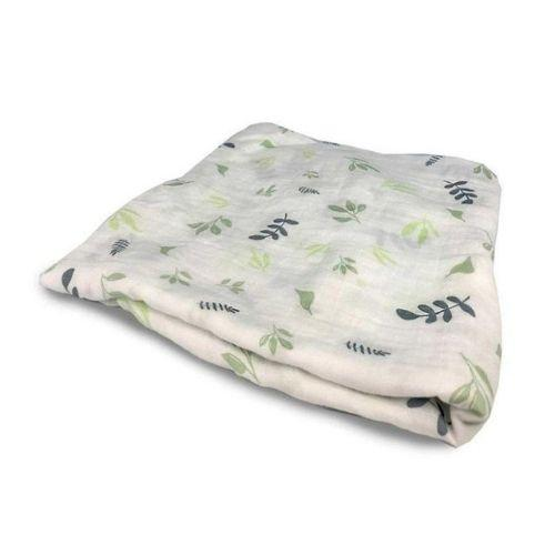 Leaf Swaddle Blanket