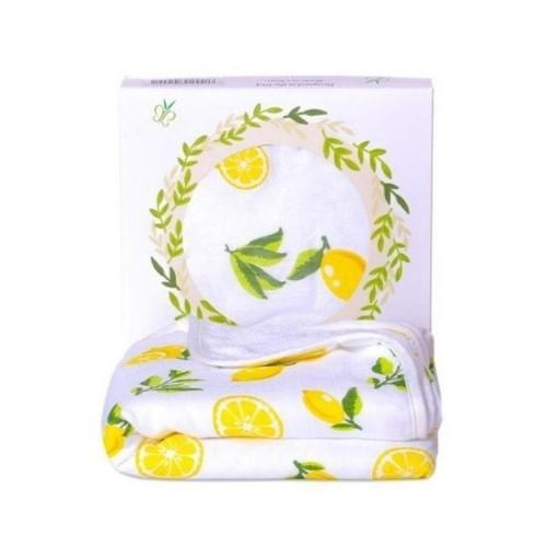 Lemon Hooded Towel