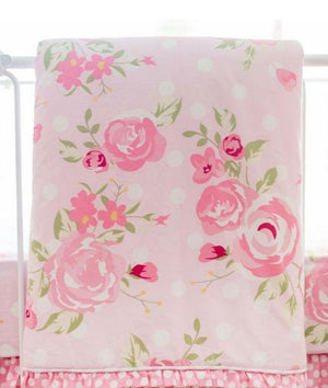 Floral Pink Crib Sheet Bundle