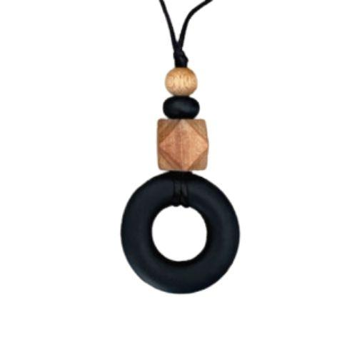 Donut Silicone Teething Necklace