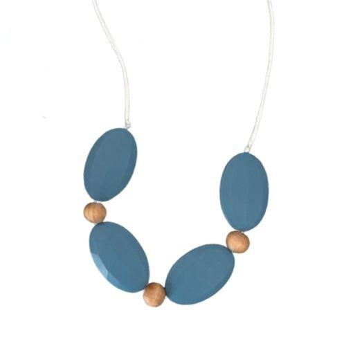 Flat Oval Teething Necklace