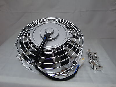 9 INCH 12V LOW PROFILE HIGH PERFORMANCE THERMO FAN 12VOLT