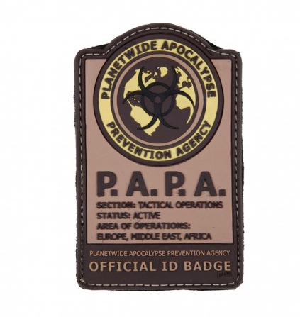 P.A.P.A (Planetwide Apocalypse Prevention Agency) - Tan