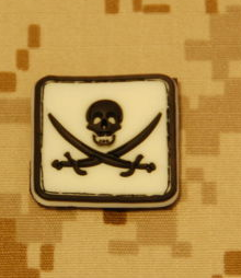 Glow-In-The-Dark Jolly Roger Patch