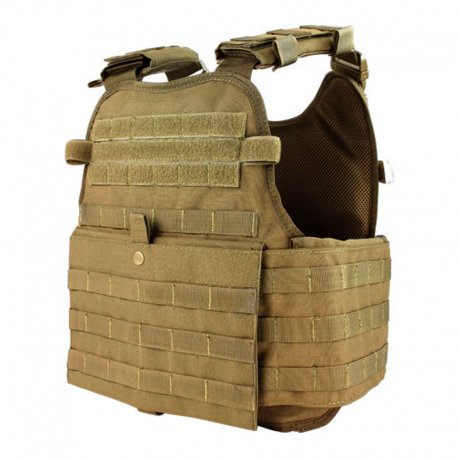 Condor Modular Operator Plate Carrier - Coyote Brown