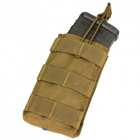 Condor Single Open Top M4 Magazine Pouch - Coyote Brown