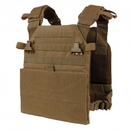 Condor Vanquish Plate Carrier - Coyote Brown