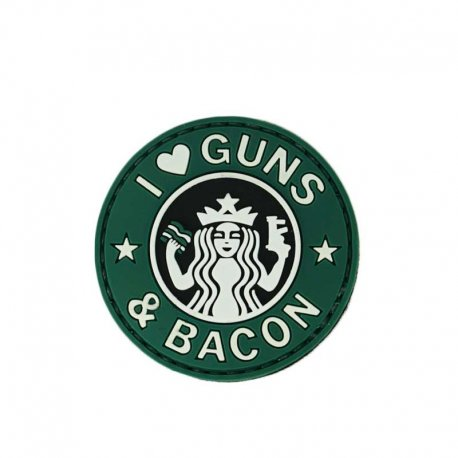 Morale Patch - I love Guns & Bacon