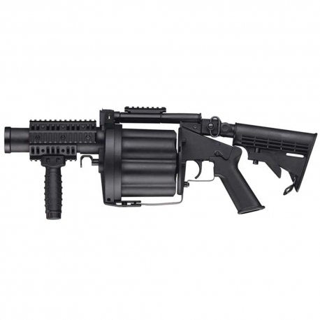 Multiple Airsoft and Paintball Grenade Launcher
