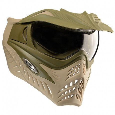 VForce Grill Paintball Mask Dual - Olive Drab/Tan