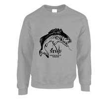 Load image into Gallery viewer, MWF Fish Logo Crewneck (Light Colours)