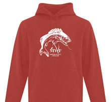 Load image into Gallery viewer, MWF Fish Logo Hoodie (White Logo)