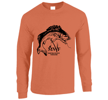 Load image into Gallery viewer, MWF Mens Fish Logo Long Sleeve (Light Colours)