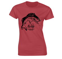 Load image into Gallery viewer, MWF Ladies Fish Logo Tee