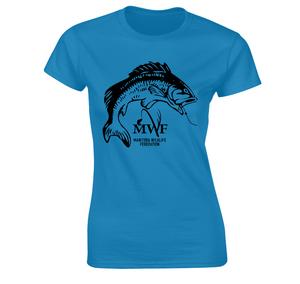 MWF Ladies Fish Logo Tee