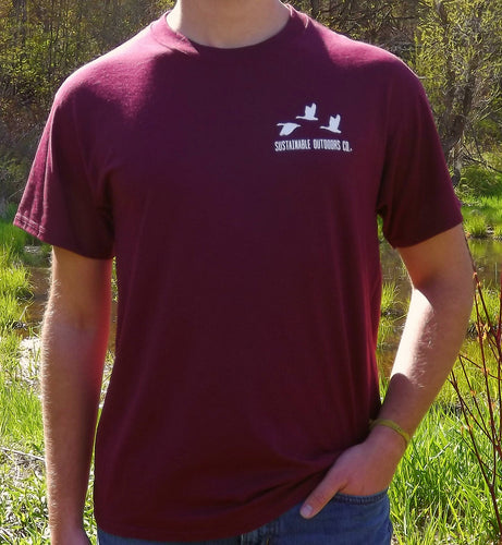 SOC Maroon Short Sleeve T-Shirt