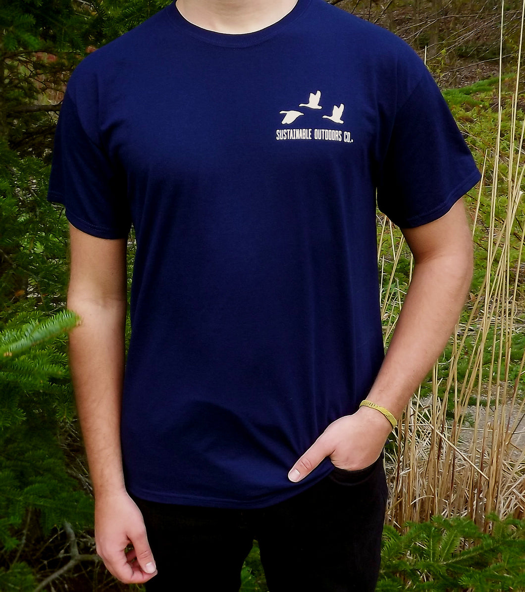 SOC Navy Short Sleeve T-Shirt