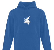Load image into Gallery viewer, MWF Moose Logo Hoodie (White Logo)