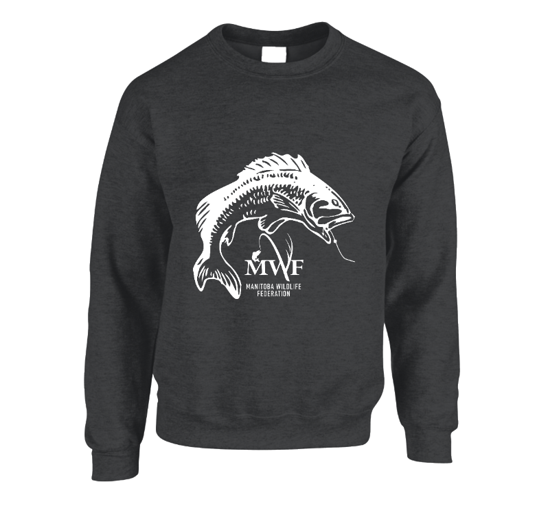 MWF Fish Logo Crewneck (Dark Colours)