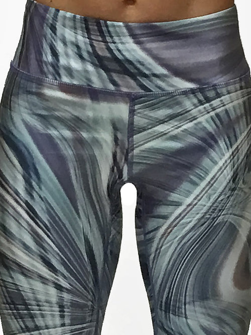 Blue Swirl - Wide band Capri