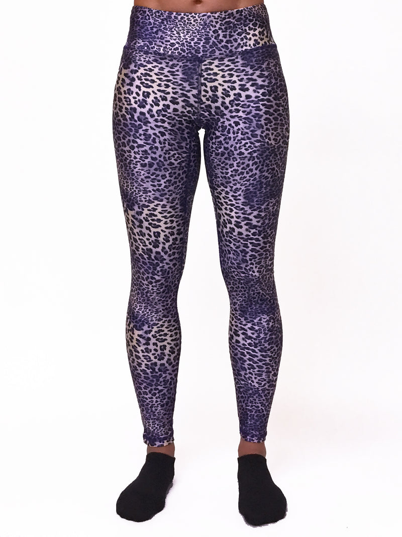 Lilac Leopard - Wide band Capri