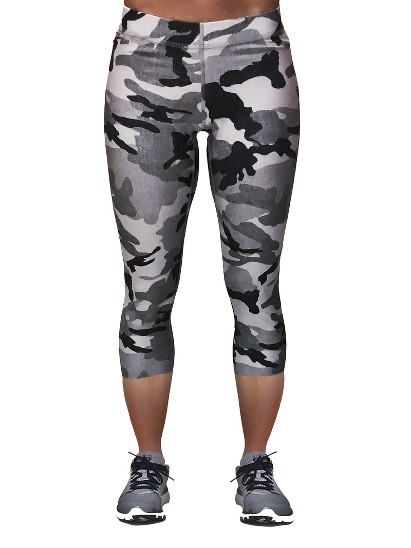 Distressed Grey Camo - Capri
