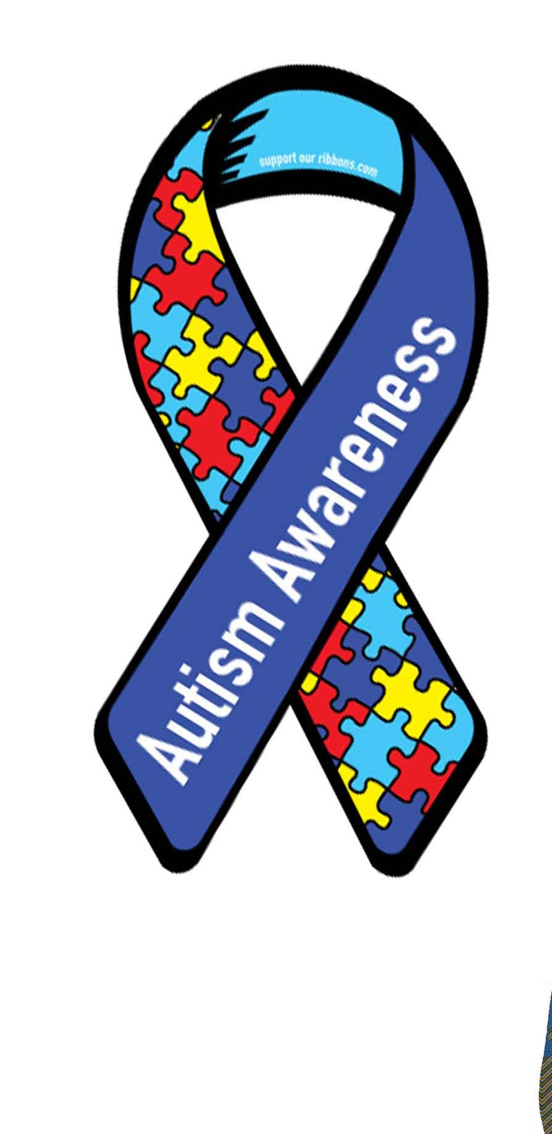 Puzzle Pieces / Autism Awareness Leggings- Wide Band