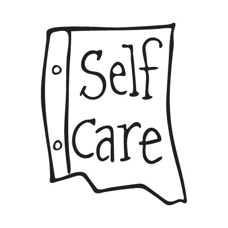Note to Self: Self Care Temporary Tattoo Image