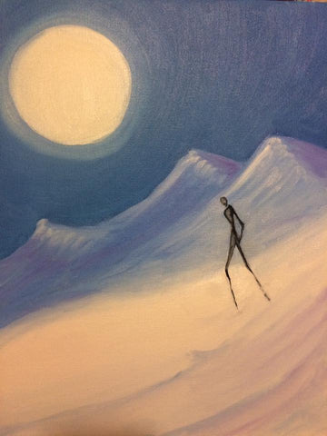 Icy Solitude - Original Oil Painting (includes S+H)