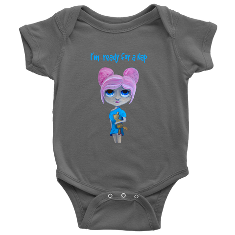 Ready for a Nap - Baby Onsie by Katinkabelle (includes S+H)