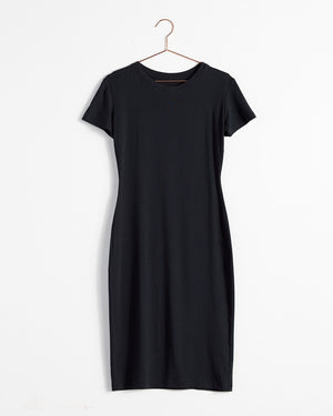 T-Shirt Dress / Black