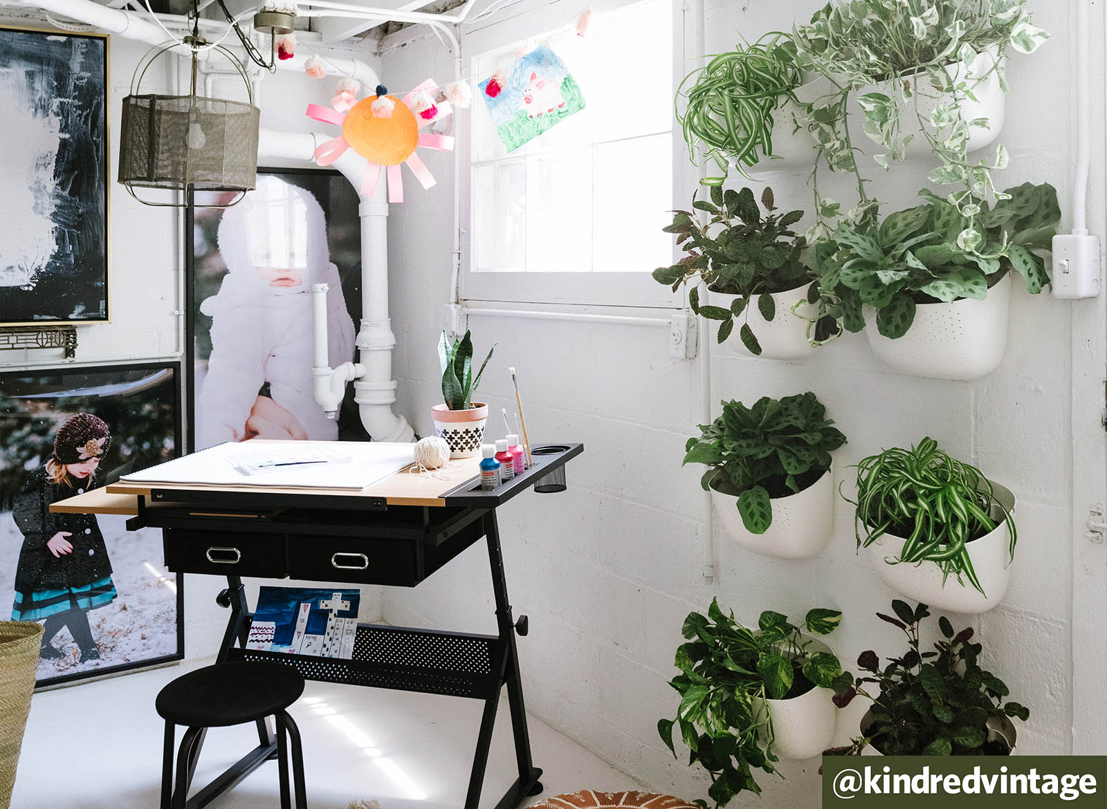 Arts and Plants: Utility Room Remodel by @kindredvintage