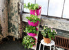 Galentine's Day Project: How To Make a Portable Vertical Garden Tower
