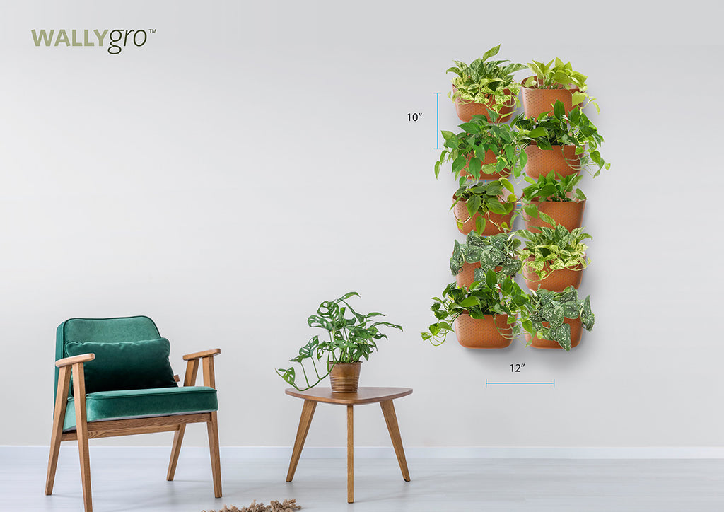 Vertical 10: Wally Eco Plant Wall Spacing