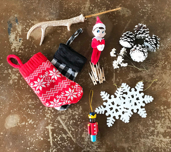 Holiday decor components