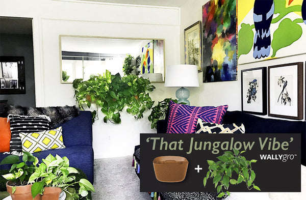 Jungalow Vibe with Terracotta Wally Eco planters