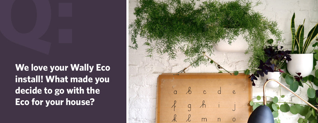 We love your Wally Eco install! What made you decide to go with the Eco for your house?