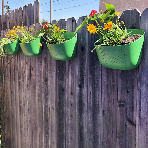 Wally Eco Clover Vertical Garden Wall Planter Installation