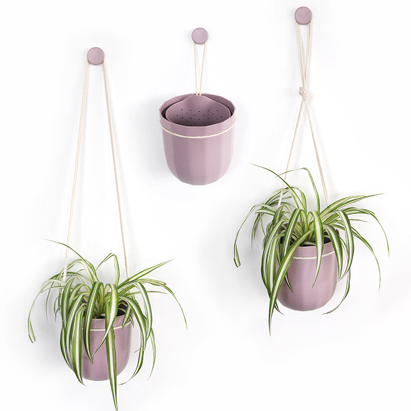 Loop Hanging Planter in Lavender
