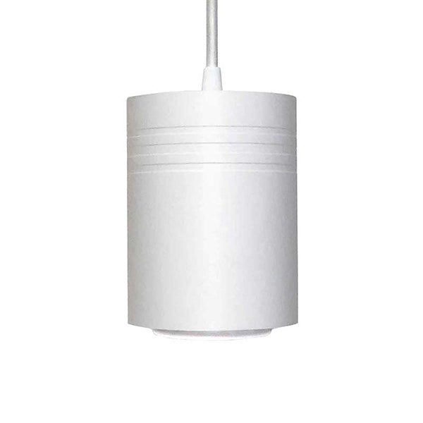 Small Matte White 20 Watt Aspect Pendant Light