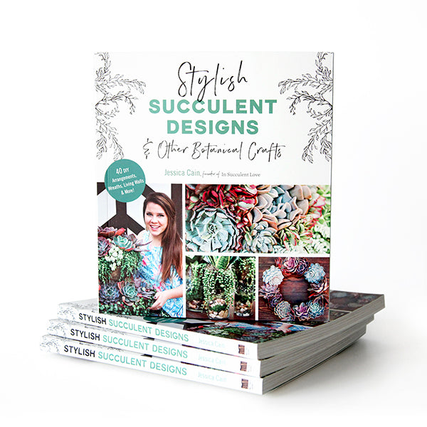 Stylish Succulent Designs And Other Botanical Crafts