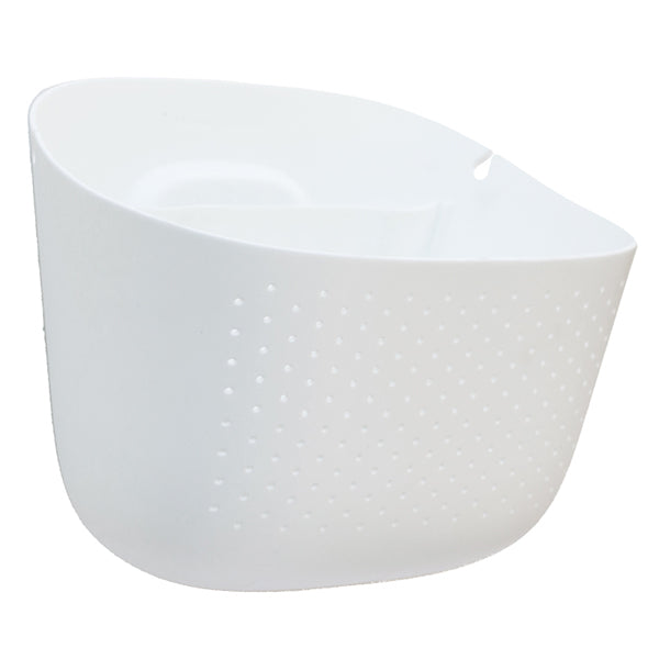 Wally Eco White Wall Planter