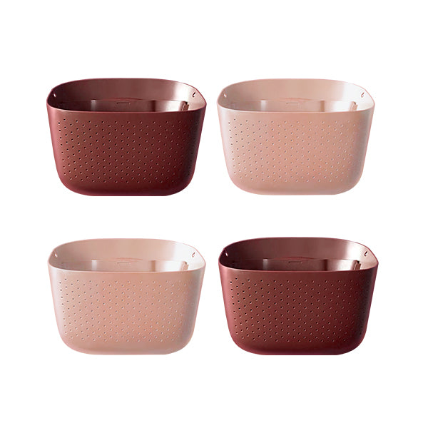 Wally Eco Brick XO Rose Wall Planter 4 Pack