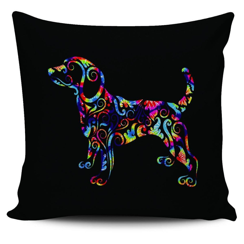 Colorful Puppy Pillowcase