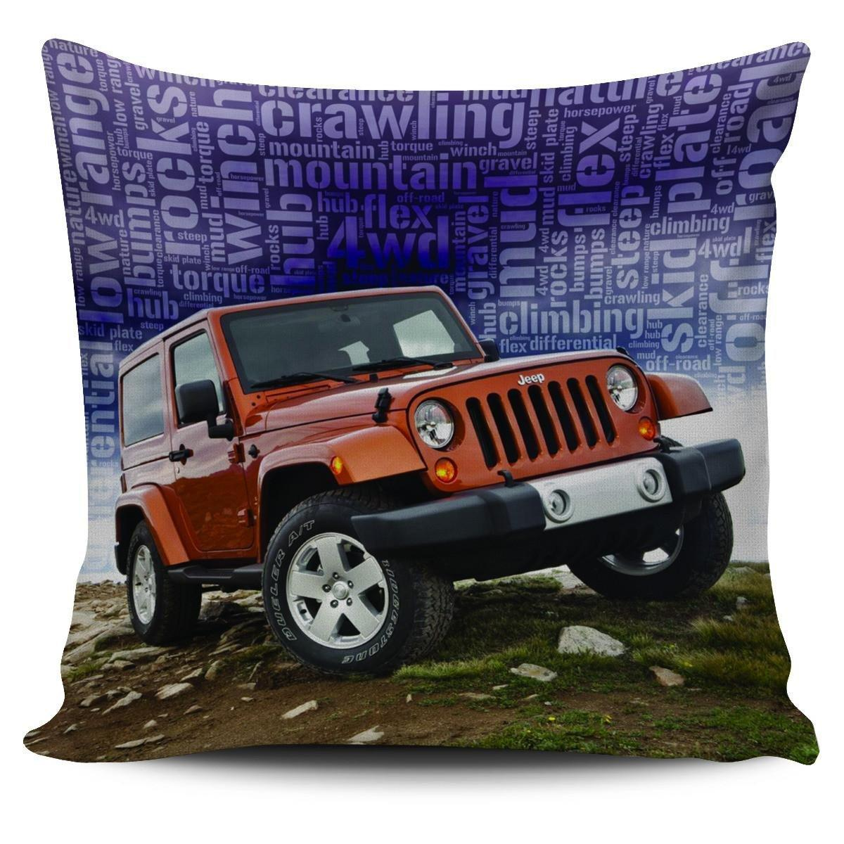 Jeep Pillowcases