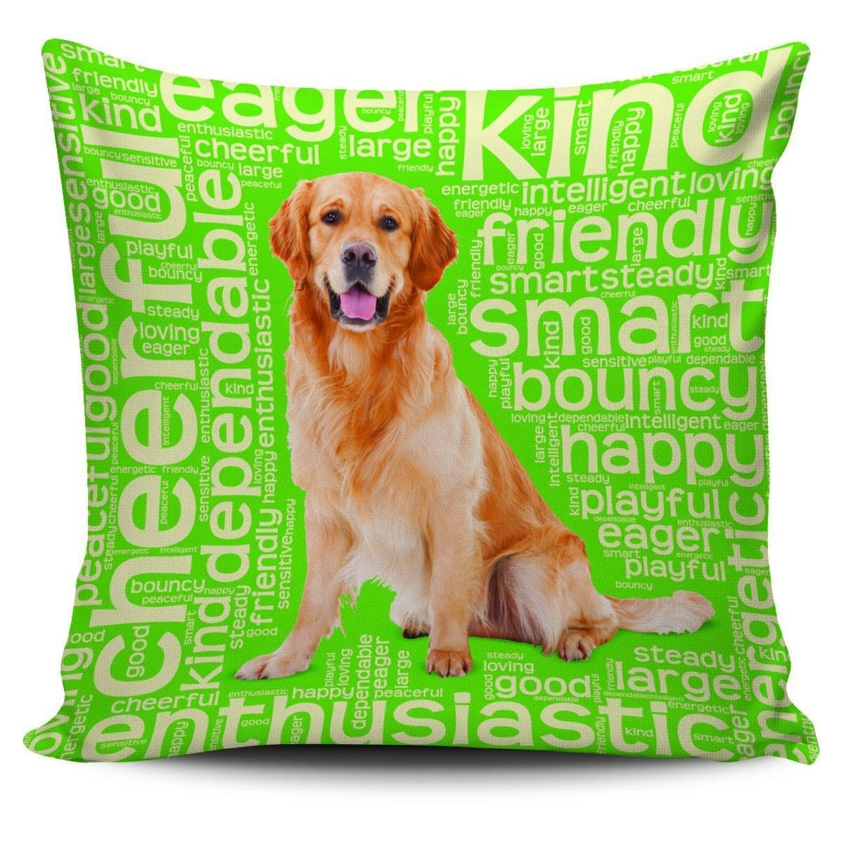 "Retriever 18"" Pillowcase"