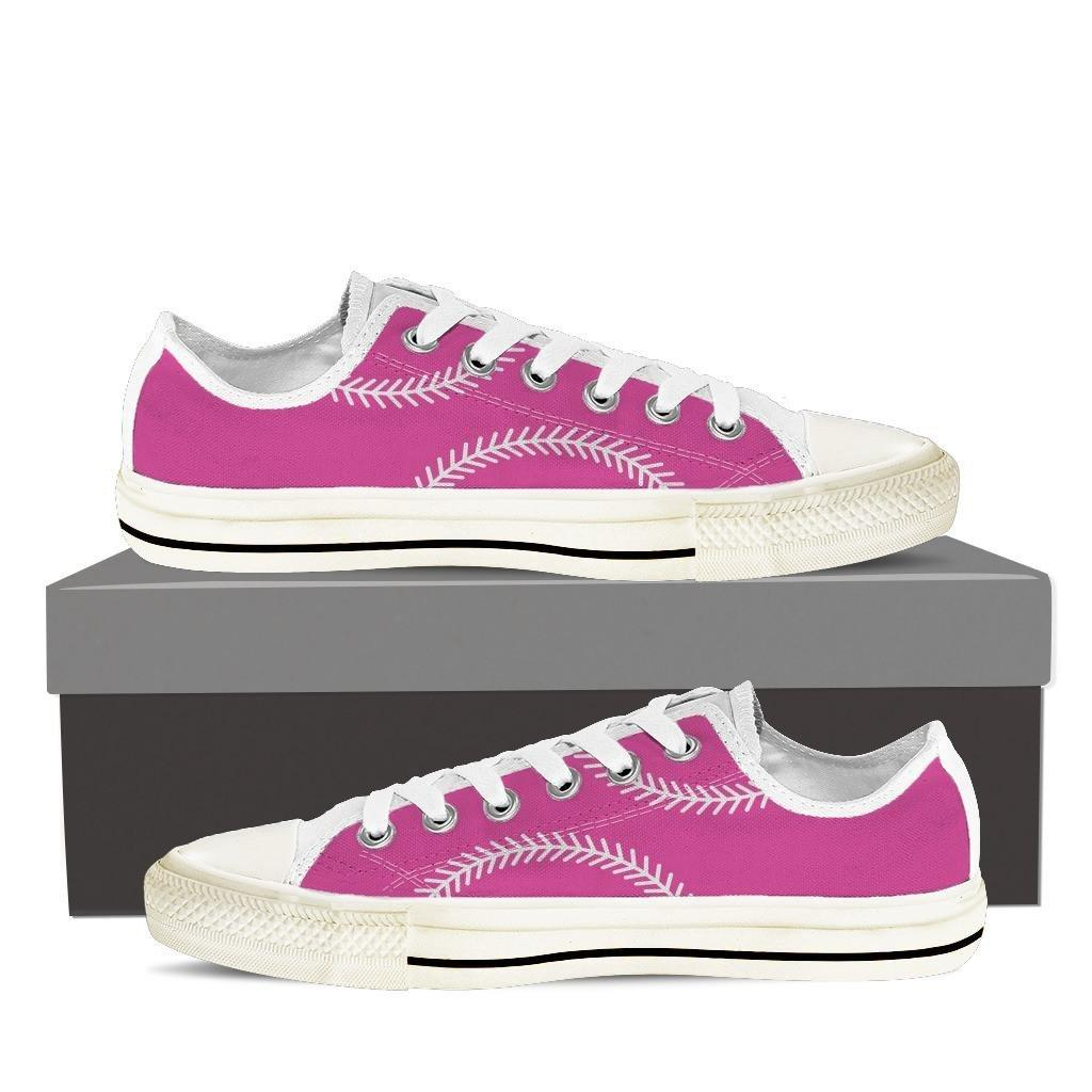 Softball Ladies Low Cut Shoes Pink