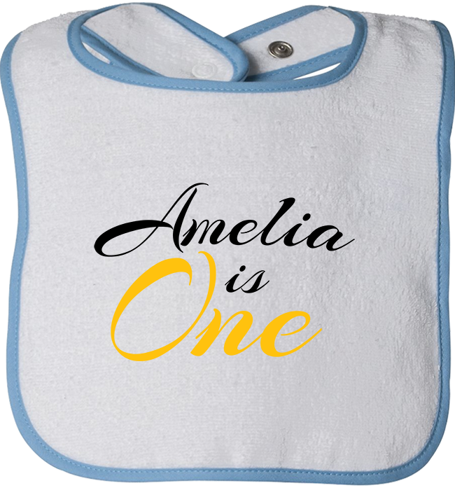 Personalized 1st Birthday Bibs - Kensleys - 1